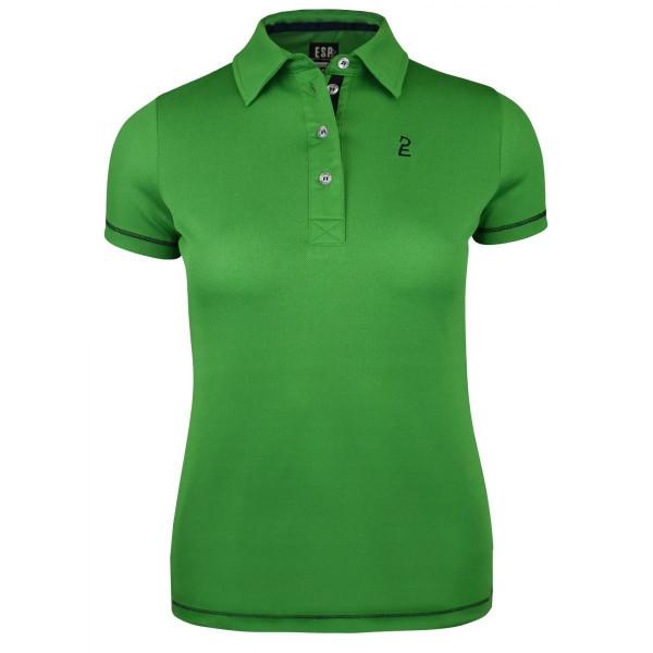 Esperado Performance Damen Polo gras grün