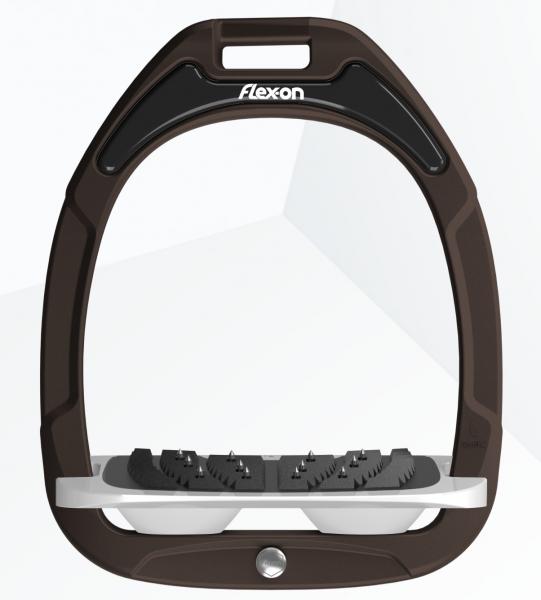Flex-on Steigbügel Green Composite-braun/grau/grau