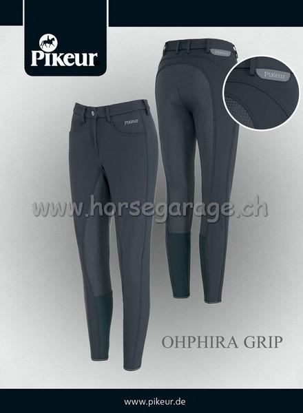 Pikeur Damen Reithose OPHIRA GRIP - Weiss - Gr. 40