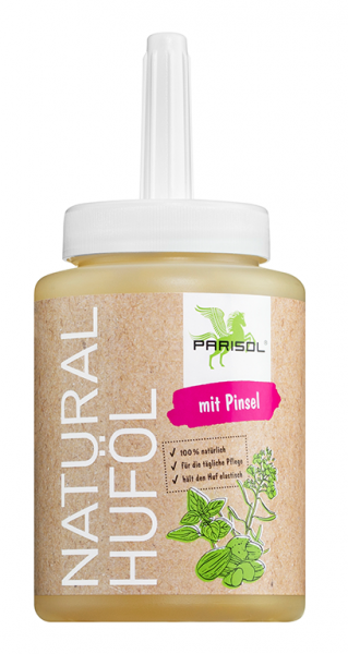 Parisol Huföl Natural mit Pinsel - 500 ml