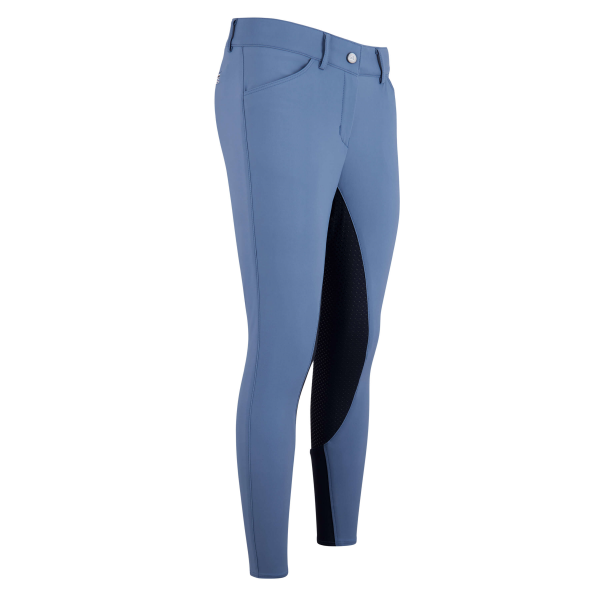 Euro-Star Damen Reithose ARISTA Full grip - Bijou Blue