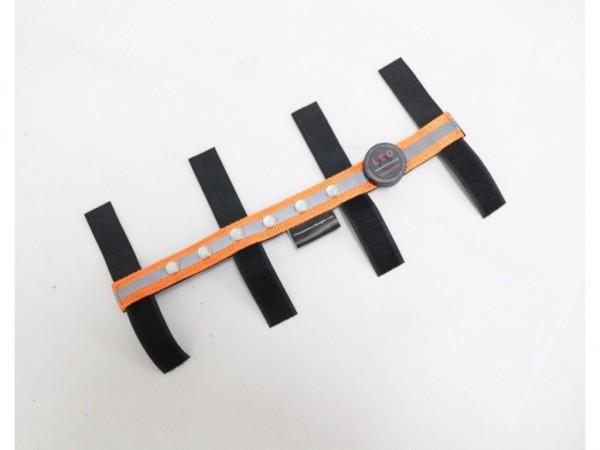 LED-Stirnband FRONT UP - Orange