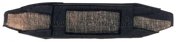 Kinnkettenunterlage GUMMI Schwarz 14.5cm x 3cm