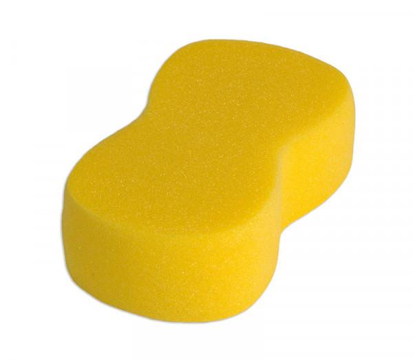 Schwamm in Knochenform - gelb