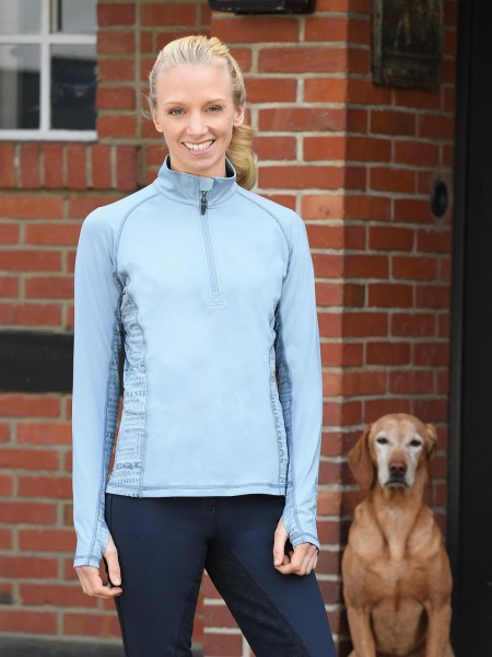 Shirt STINA TECH TECH TOP - Arctic Blue