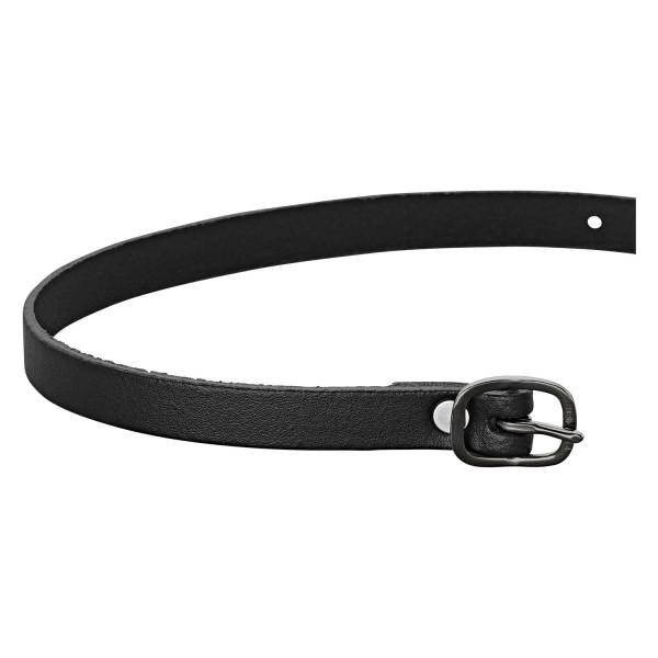 Sprenger Sporenriemen Leder 45cm - Black Series