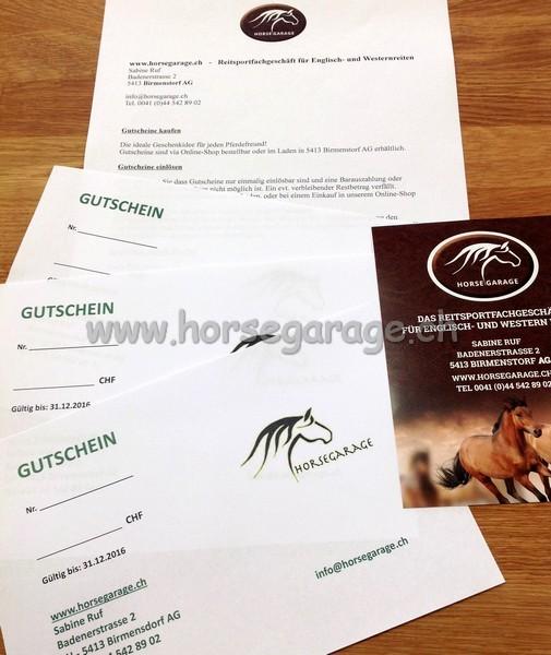 Horsegarage Gutschein - Betrag wählbar