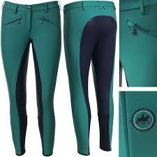Pikeur Damen Reithose LATINA GRIP - Smaragd Green - Gr. 38