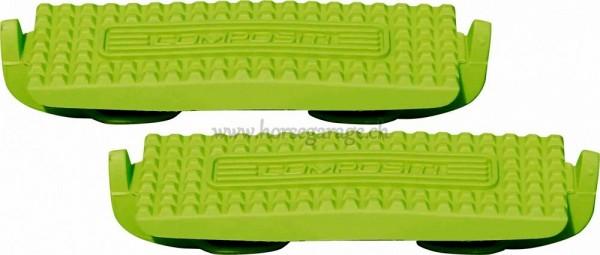 Compositi Profile Steigbügel Einlagen - LIGHT GREEN