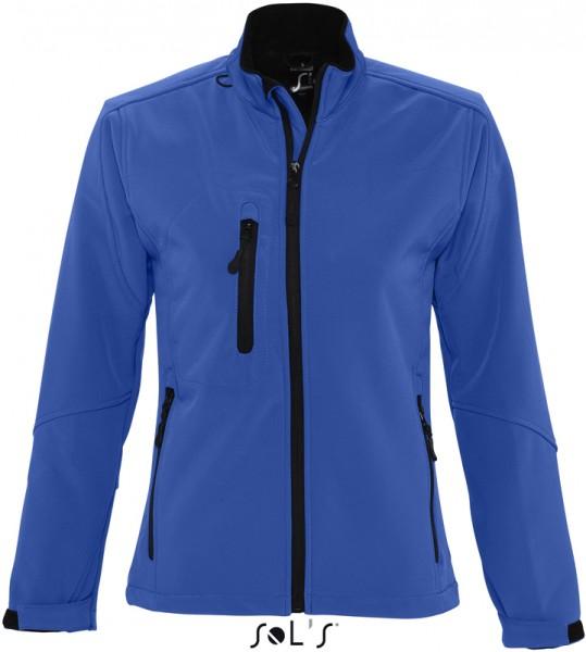 Sol's Damen Softshell Jacke ROXY - Blau
